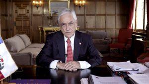 """Presidente Piñera ante la Asamblea General de la ONU: """"Chile fue capaz de encauzar el estallido social a través de un proceso pacífico, institucional y democrático"""""""