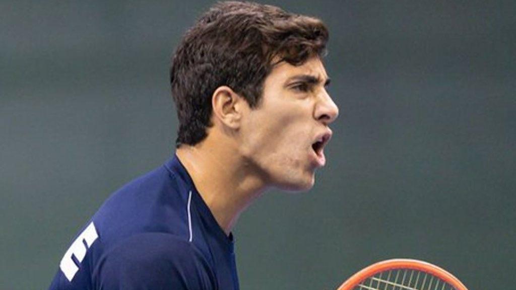 Cristian Garín volvió a encontrarse con su mejor juego para darle a Chile el primer punto por Copa Davis