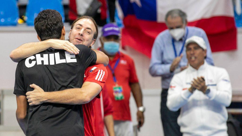 EN VIVO | Cristian Garin disputa el cuarto punto ante Norbert Gombos por la Copa Davis