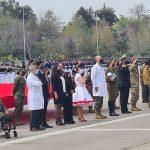 Parada Militar 2021: homenaje a personal de salud, heridos y fallecidos por covid-19 marcó introducción