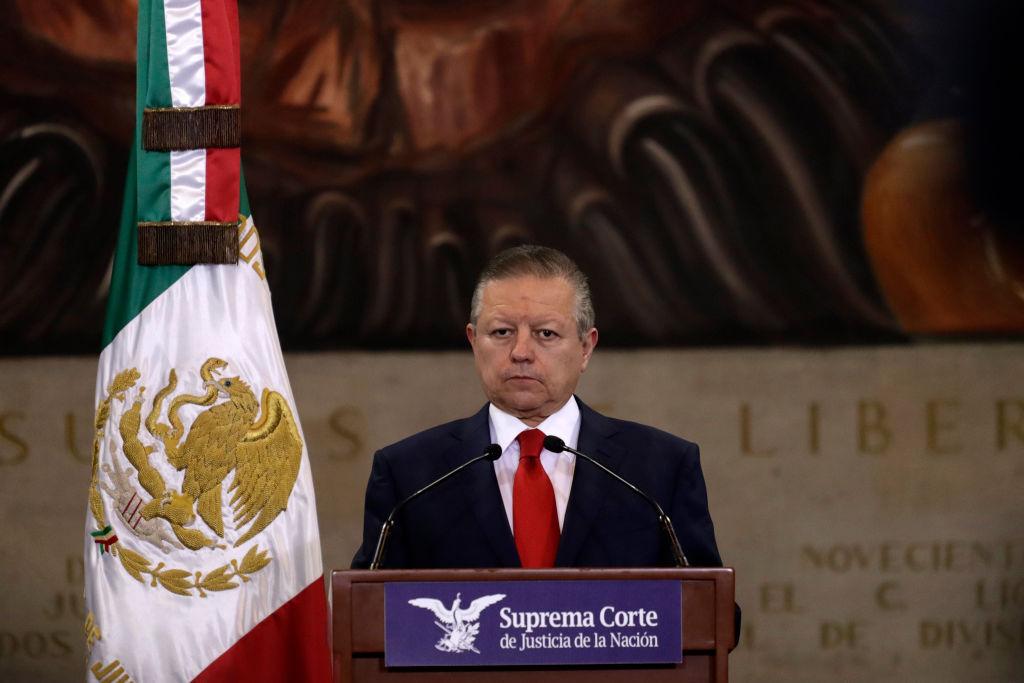 El titular de la corte suprema mexicana Arturo Zaldívar
