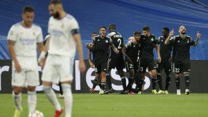 El Sheriff dio un gran golpe y venció al Real Madrid posicionándose puntero en su grupo de Champions