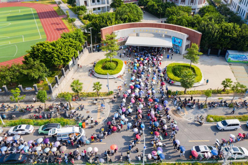 Masivos testeos para detectar el Covid-19 en la ciudad de Xiamen