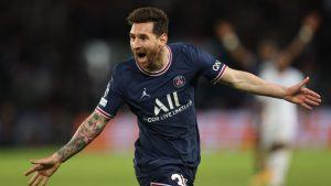 Bautismo de gol: Lionel Messi marcó un golazo en victoria del PSG sobre el Manchester City por la Champions
