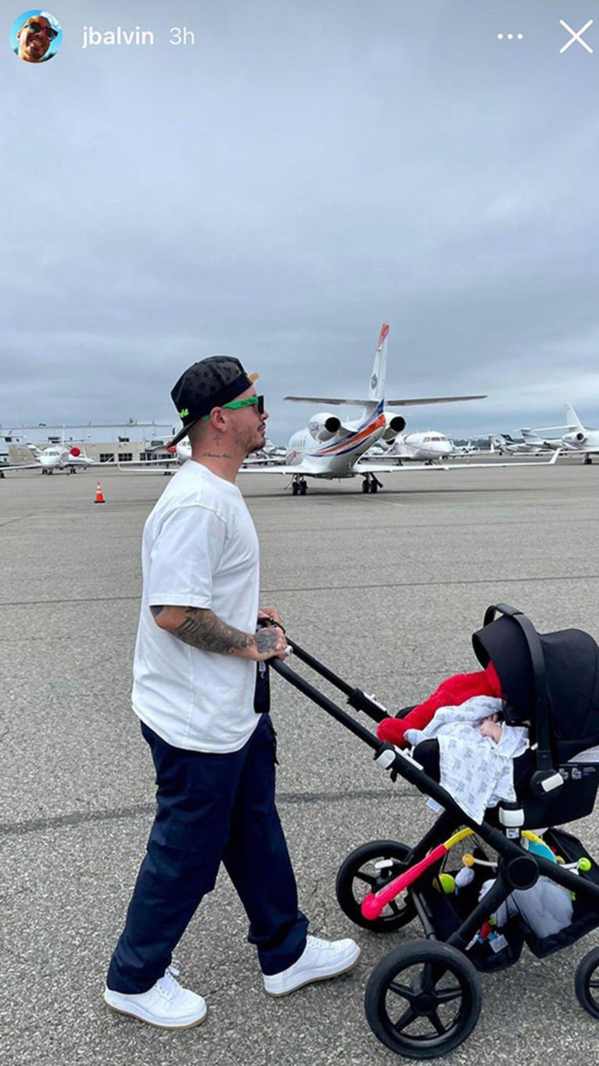 J Balvin publicó la primera foto con su pequeño hijo Río