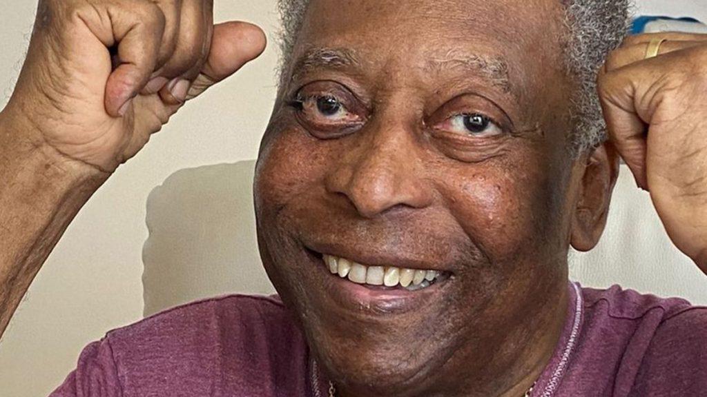 Pelé publicó un alentador mensaje en sus redes sociales sobre su estado de salud