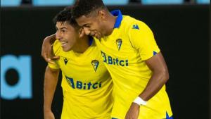 La Liga: Tomás Alarcón fue protagonista en el triunfo del Cádiz ante el Celta de Vigo