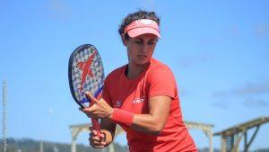 """Francisca Zúñiga y el desarrollo acelerado del tenis playa: """"Está creciendo más que el tenis porque es un deporte muy fácil"""""""
