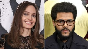 ¡Volvieron los rumores de romance! Angelina Jolie y The Weeknd nuevamente estuvieron juntos en Los Ángeles