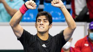 """""""Estoy muy contento por cómo jugué"""": Cristian Garin valoró su triunfo en Copa Davis"""