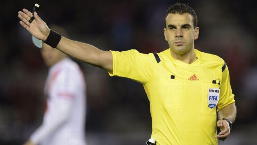 Christian Ferreyra será el árbitro del duelo entre Perú y Chile