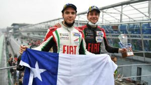 Benjamín Hites debutó en la categoría GT Open con un triunfo en el mítico circuito de Monza