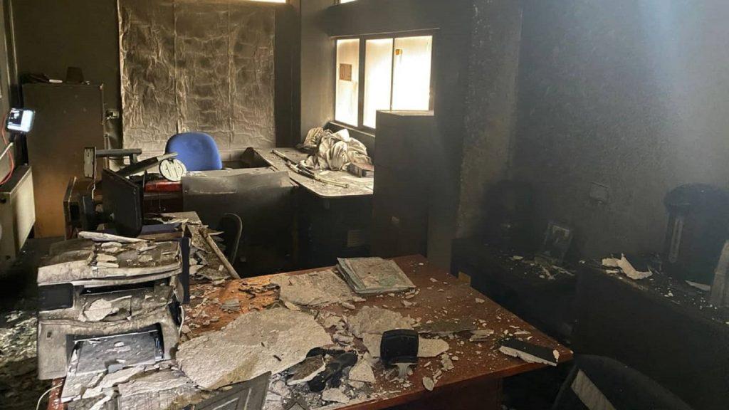 Alcalde de Rancagua se querellará por atentado incendiario en edificio de la Dirección de Obras