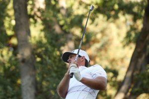 """Guillermo """"Mito"""" Pereira terminó feliz con su tercer puesto en el inicio de la temporada del PGA Tour"""