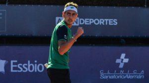 Alejandro Tabilo tuvo un rápido y victorioso debut en el Challenger de Orleans