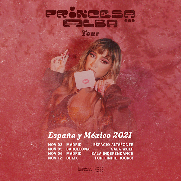 Princesa Alba anunció tour por México y España para promocionar su nuevo álbum