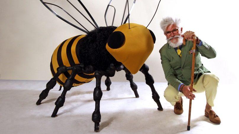 Protección a las abejas: Canal 13C lanza campaña con intervención urbana y transmisión de un documental