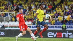 La Roja femenina cayó de manera inapelable ante Colombia en amistoso internacional