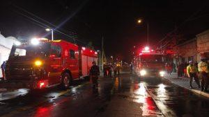 Incendio dejó dos personas muertas en la comuna de Pedro Aguirre Cerda