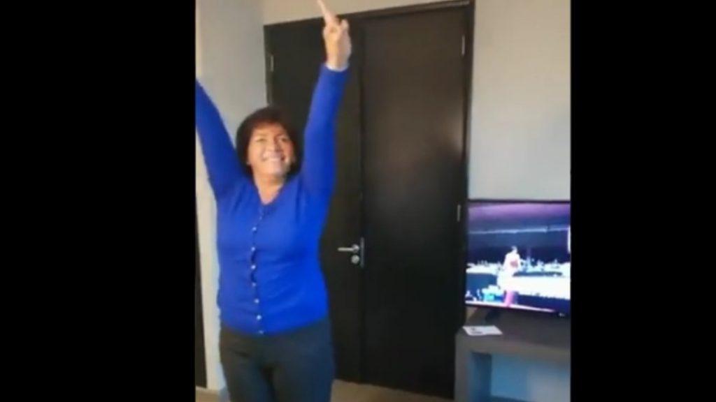 """La """"pirueta"""" de Yasna Provoste que se hizo viral en redes sociales y que sacó aplausos de Nadia Comaneci"""