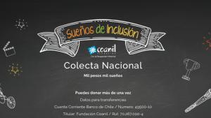 Coanil anunció Colecta Nacional 2021: nuevamente se realizará de forma virtual