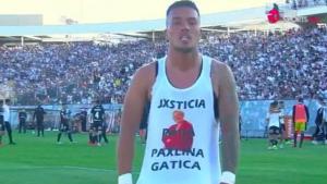Quién es Paulina Gatica: la mujer por la que Parraguez pidió justicia en el partido de Colo Colo ante U. Católica