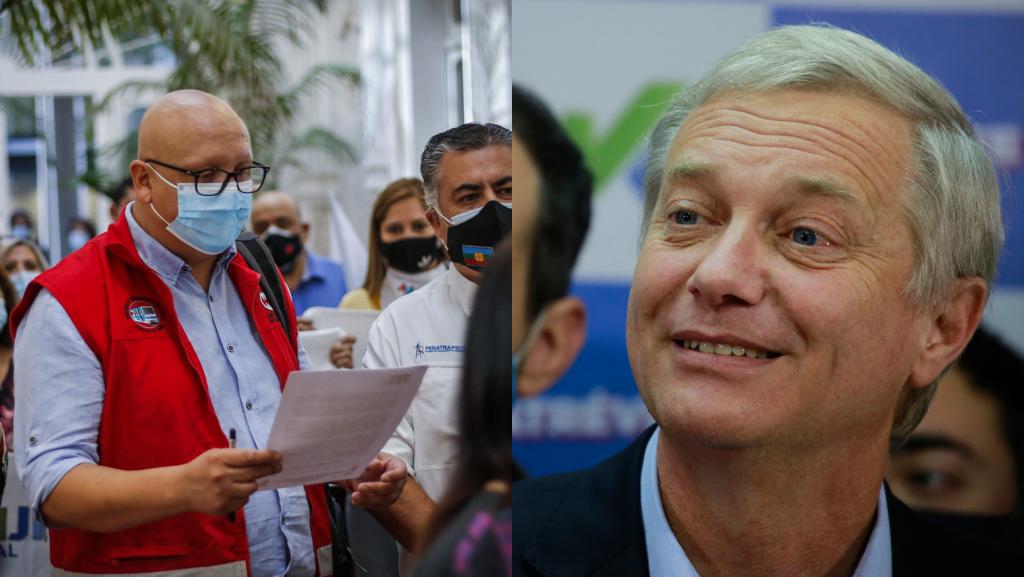 """Secretario general de la CUT criticó encuentro entre Colmed y José Antonio Kast: """"Ni a la esquina con los fascistas"""""""