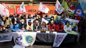 """Reajuste del sector público: organizaciones sindicales piden 7,5% y reclaman por despidos """"arbitrarios"""""""