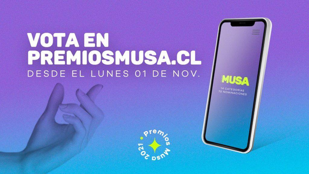 Premios MUSA 2021: ¡Prepárate para votar por tus favoritos!