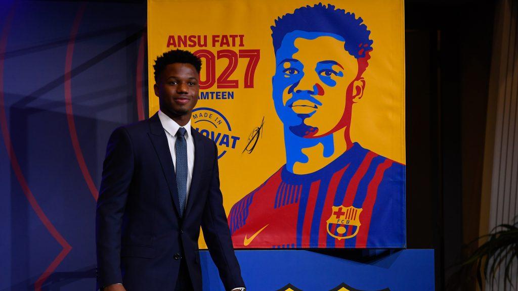 Ansu Fati no se mueve de Barcelona y renueva hasta el 2027
