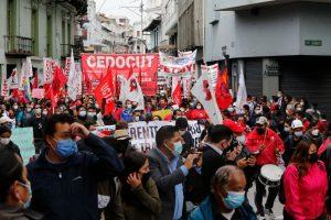 Masivas protestas contra el gobierno de Guillermo Lasso en diversas ciudad de Ecuador