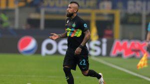 El gol de Arturo Vidal por Champions League, en su regreso a la titularidad en Inter de Milan