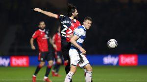 Queens Park Rangers le tocó la oreja a Ben Brereton: Compartieron una jugada donde el ariete fue burlado por un rival