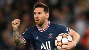 Lionel Messi anotó su primer doblete en la remontada del PSG por Champions League