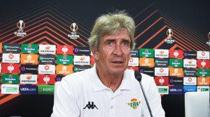"""Manuel Pellegrini y la ausencia de Aránguiz en el duelo entre Real Betis y Leverkusen: """"Lo van a echar de menos"""""""