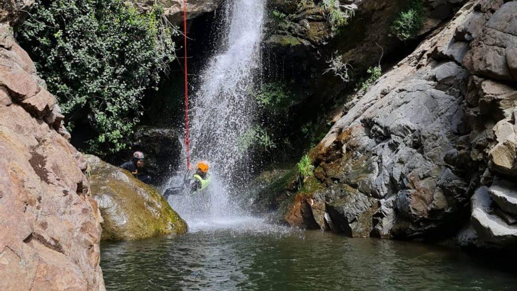 Canyoning en Tipaume: una de las apuestas extremas para reactivar el turismo en O'Higgins