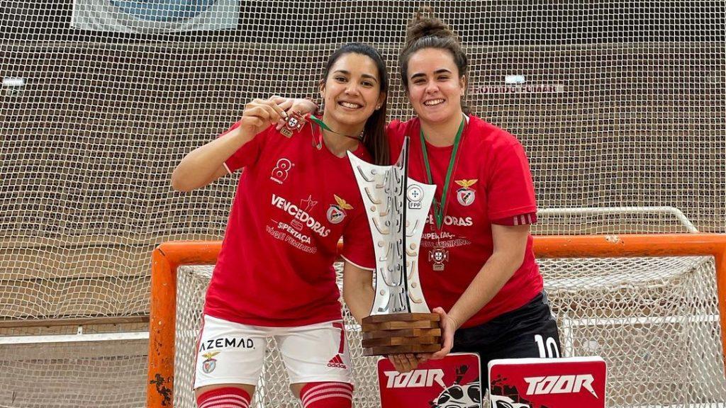 """Catalina Flores se consagró campeona de hockey patín con Benfica y se ilusiona con conquistar Europa: """"Estoy en el mejor club que podría estar"""""""
