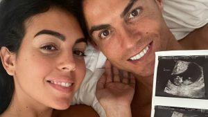 Cristiano Ronaldo y Georgina Rodríguez anunciaron que serán padres de gemelos