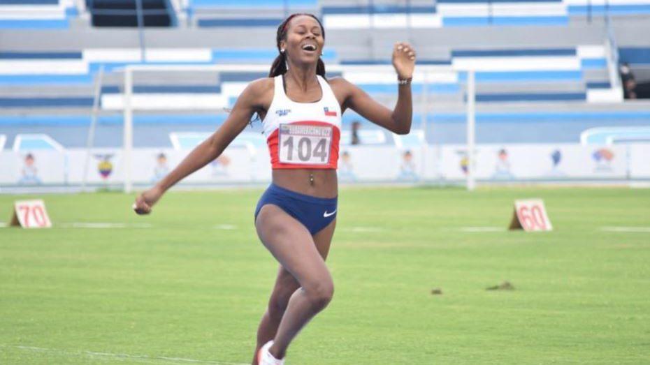 Berdine Castillo logró el cuarto oro para Chile en el Sudamericano Sub-23 de Atletismo