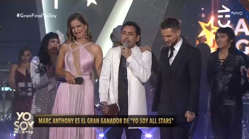 """""""Yo Soy All Stars"""": Imitador de Marc Anthony, Fermín Opazo, se convirtió en el gran ganador"""