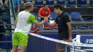 Cristian Garín quedó eliminado en la segunda ronda del ATP 250 de Amberes