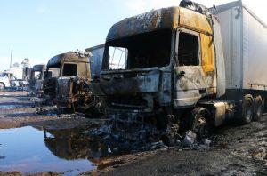 Macrozona sur: Tres atentados incendiarios hubo en la zona rural de Victoria durante la madrugada de este lunes