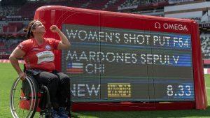 Franncisca Mardones, Juegos Paralímpicos